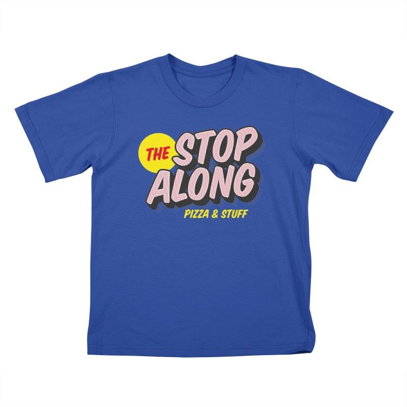 Blue Shirt Kids T-Shirt by StopAlong Swag