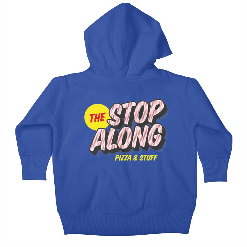 Blue Shirt Kids Baby Zip-Up Hoody by StopAlong Swag