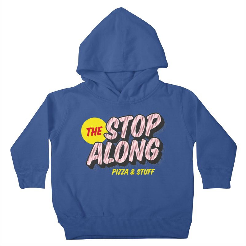 Blue Shirt Kids Toddler Pullover Hoody by StopAlong Swag
