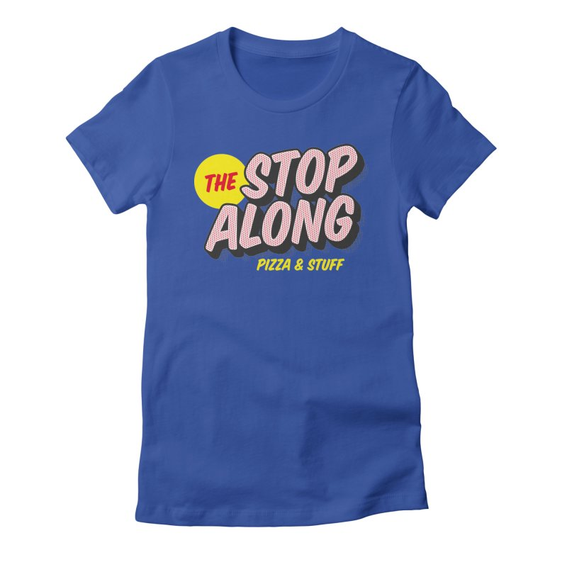 Blue Shirt Women's Fitted T-Shirt by StopAlong Swag