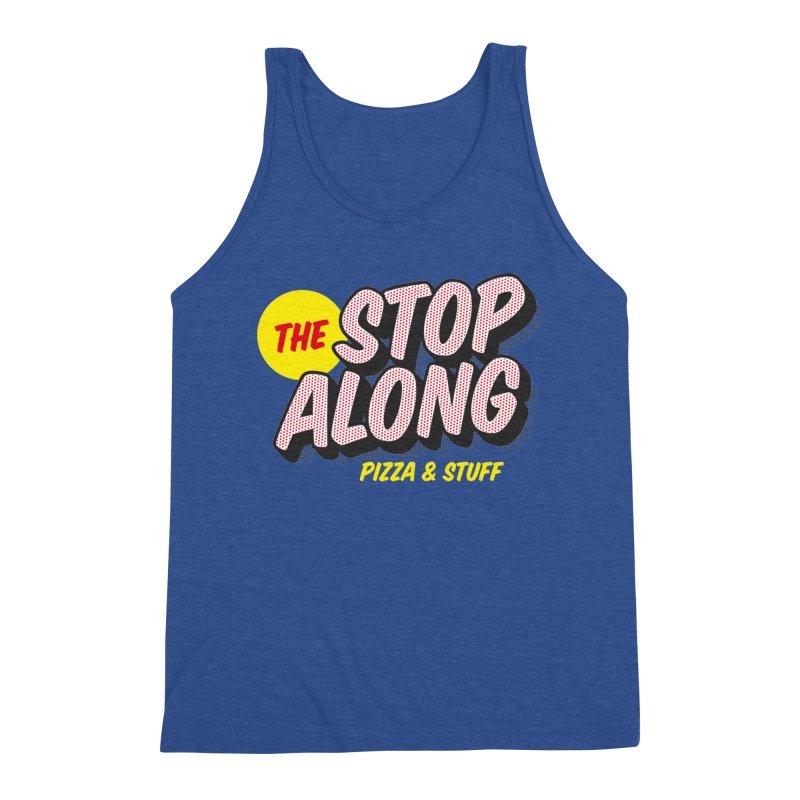 Blue Shirt Men's Triblend Tank by StopAlong Swag