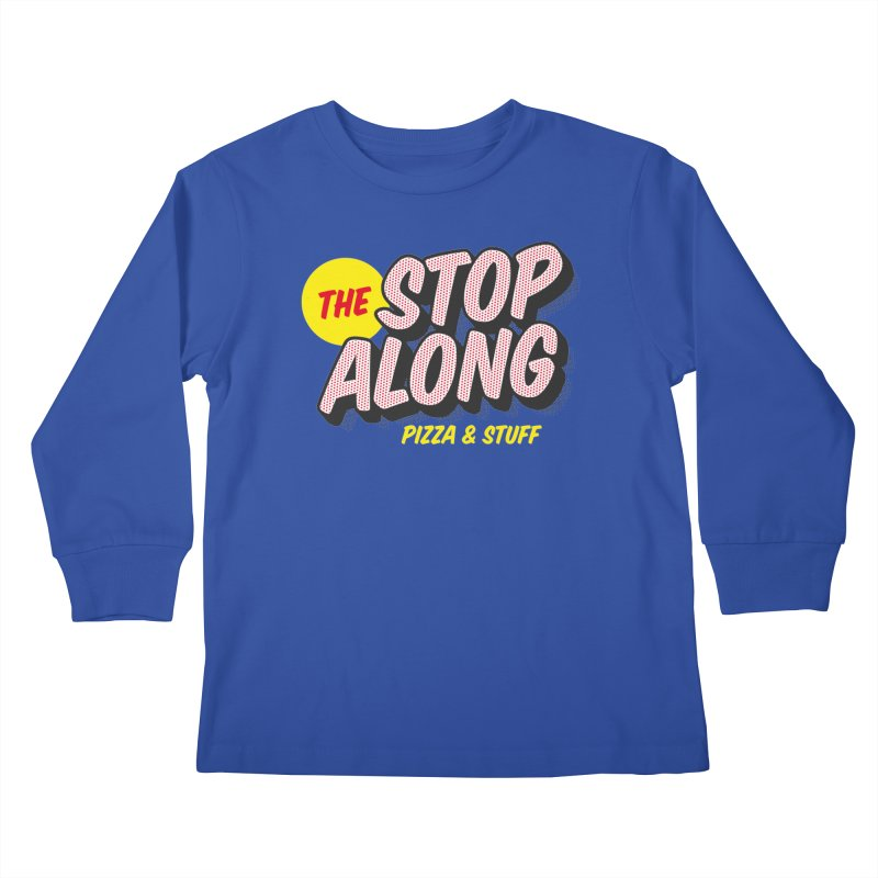 Blue Shirt Kids Longsleeve T-Shirt by StopAlong Swag