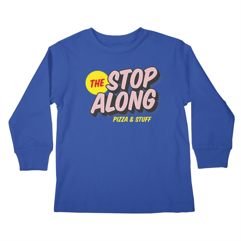 Blue Shirt Kids Longsleeve T-Shirt by StopAlong Swag