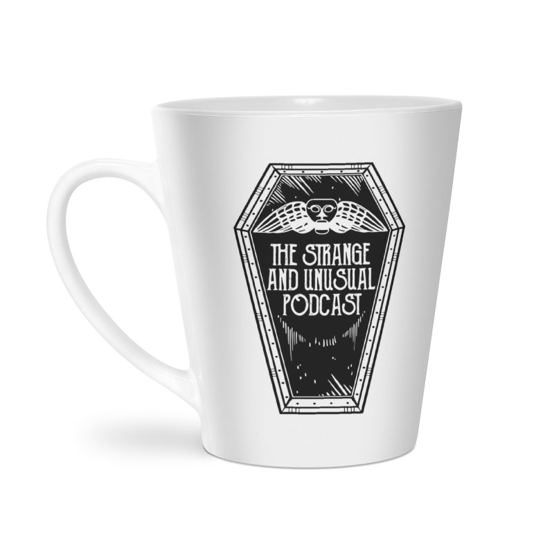 The Strange and Unusual Coffin Accessories Mug by thestrangeandunusualpodcast's Artist Shop