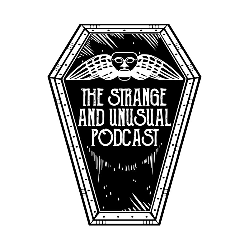 The Strange and Unusual Coffin Home Throw Pillow by thestrangeandunusualpodcast's Artist Shop
