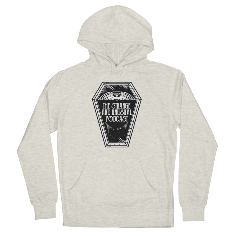 The Strange and Unusual Coffin Women's Pullover Hoody by thestrangeandunusualpodcast's Artist Shop