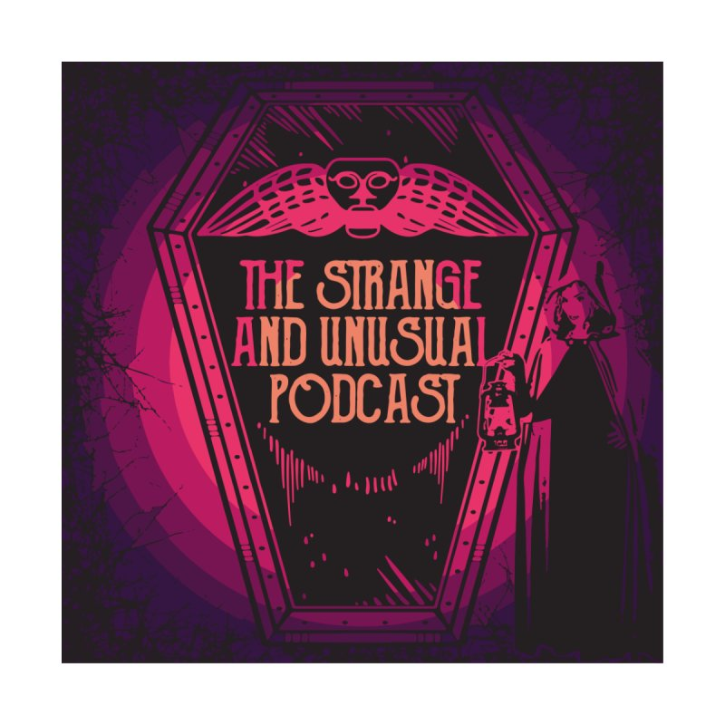The Strange and Unusual Logo Women's Longsleeve T-Shirt by thestrangeandunusualpodcast's Artist Shop