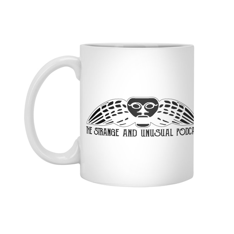 The Strange and Unusual Title Accessories Standard Mug by thestrangeandunusualpodcast's Artist Shop