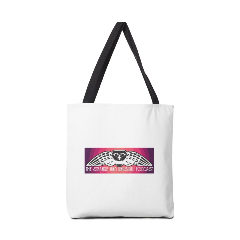 Strange and Unusual Color Title Accessories Bag by thestrangeandunusualpodcast's Artist Shop