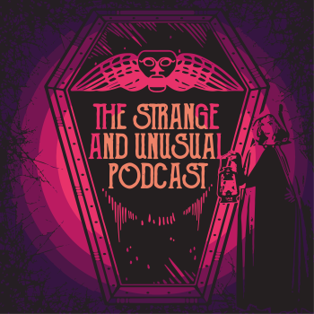 thestrangeandunusualpodcast's Artist Shop Logo