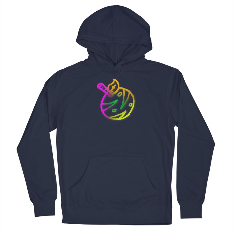 Froot Logo Multicolor Lineart Men's Pullover Hoody by Strange Froots Merch