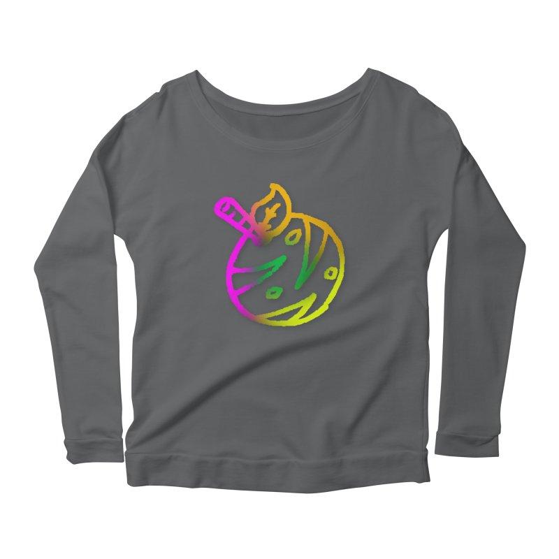 Froot Logo Multicolor Lineart Women's Longsleeve T-Shirt by Strange Froots Merch