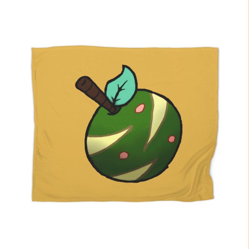 Froot Logo Full Color Home Fleece Blanket Blanket by Strange Froots Merch