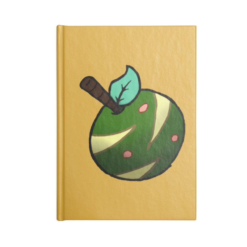 Froot Logo Full Color Accessories Blank Journal Notebook by Strange Froots Merch