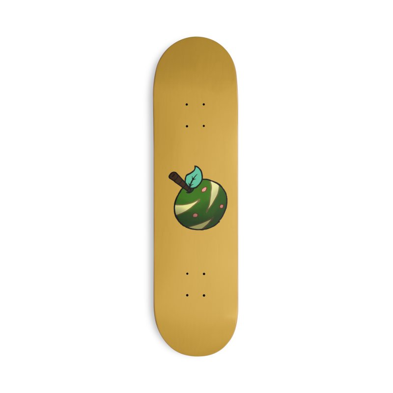 Froot Logo Full Color Accessories Skateboard by Strange Froots Merch