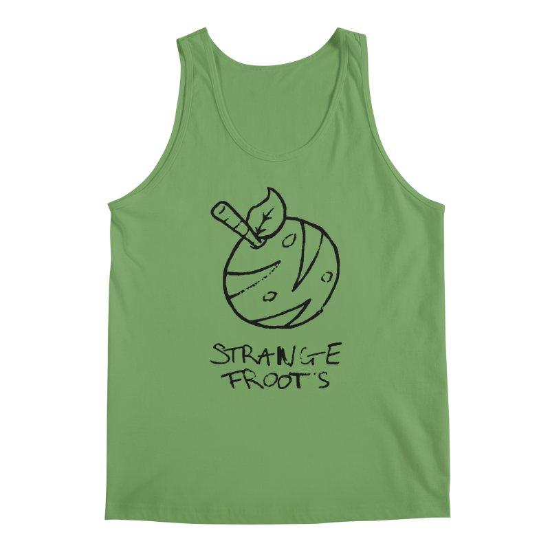 Strange Froots Logo Lineart Men's Tank by Strange Froots Merch