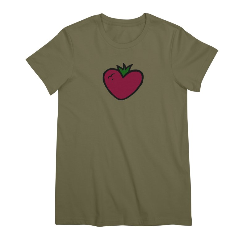 PassionFroot Logo Full Color Women's Premium T-Shirt by Strange Froots Merch