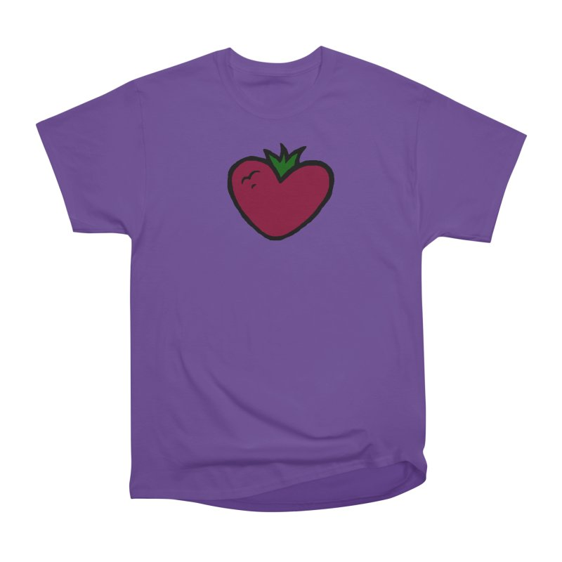PassionFroot Logo Full Color Women's Heavyweight Unisex T-Shirt by Strange Froots Merch