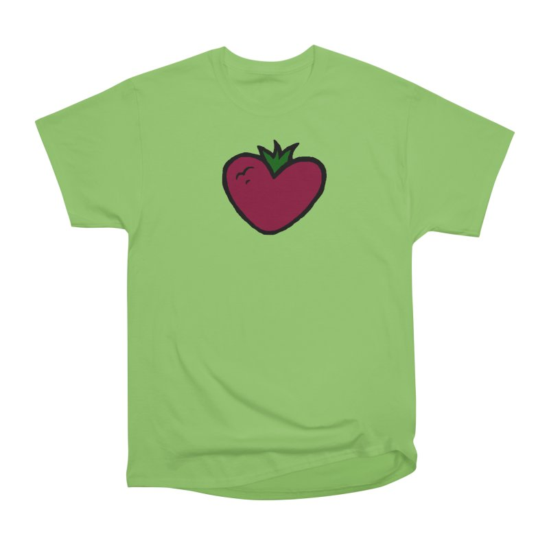 PassionFroot Logo Full Color Men's Heavyweight T-Shirt by Strange Froots Merch