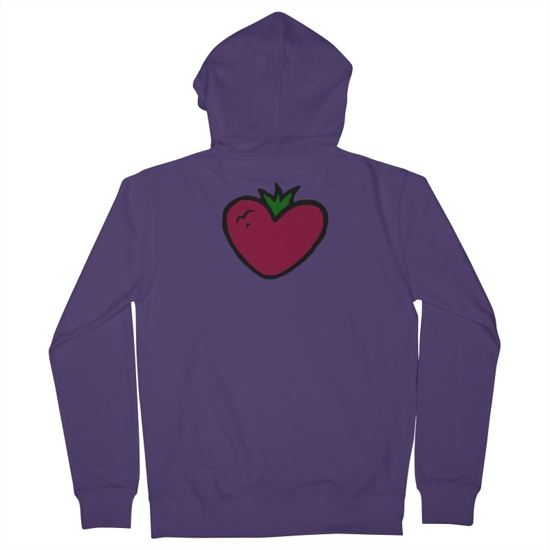 PassionFroot Logo Full Color Women's French Terry Zip-Up Hoody by Strange Froots Merch