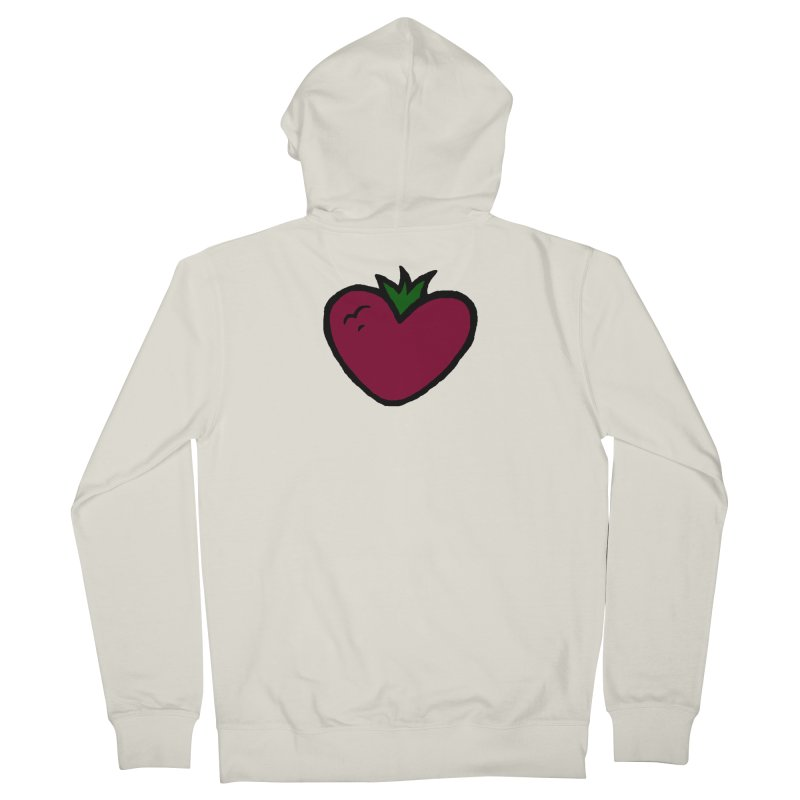 PassionFroot Logo Full Color Men's French Terry Zip-Up Hoody by Strange Froots Merch