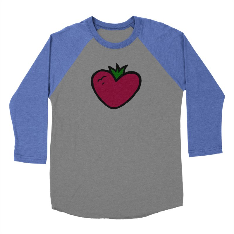PassionFroot Logo Full Color Men's Baseball Triblend Longsleeve T-Shirt by Strange Froots Merch