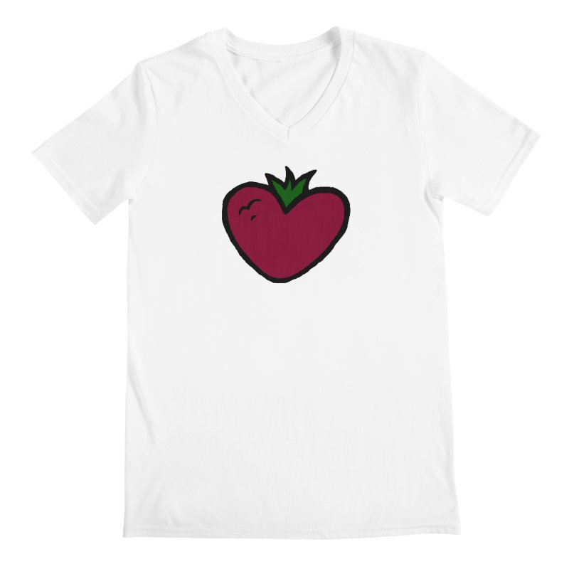 PassionFroot Logo Full Color Men's V-Neck by Strange Froots Merch