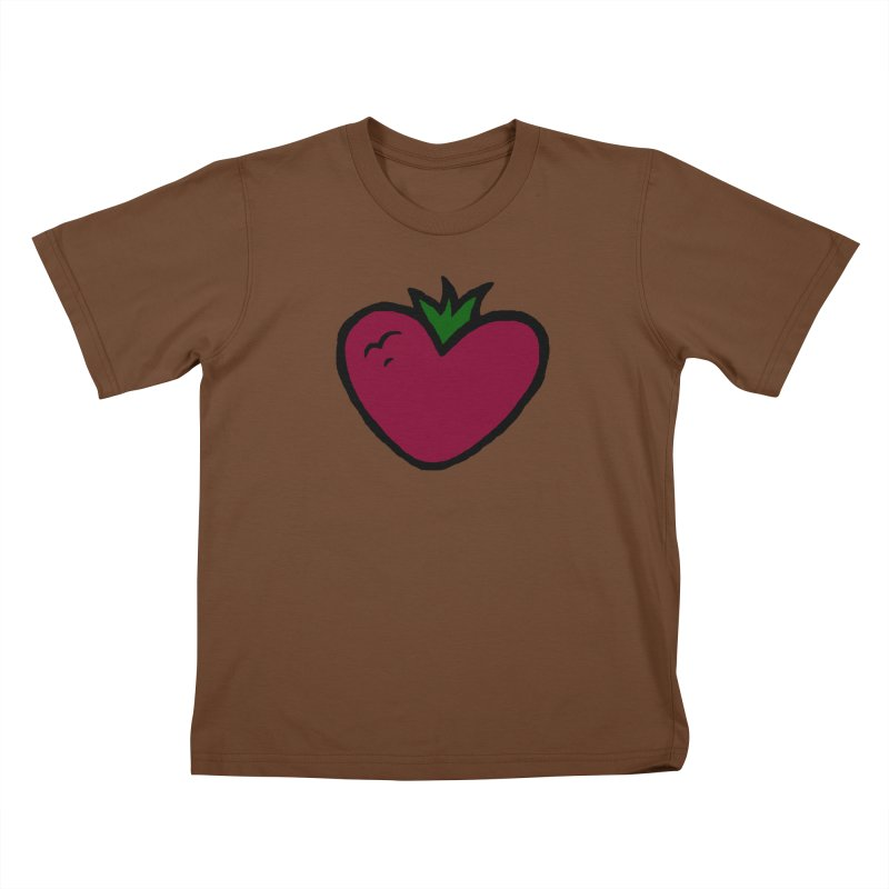 PassionFroot Logo Full Color Kids T-Shirt by Strange Froots Merch