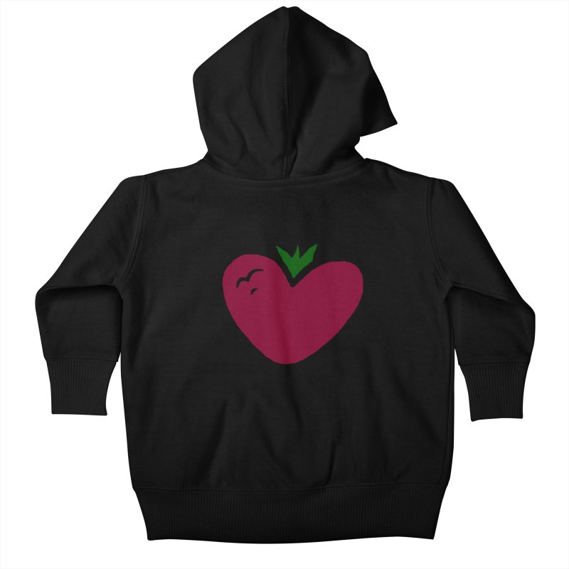 PassionFroot Logo Full Color Kids Baby Zip-Up Hoody by Strange Froots Merch