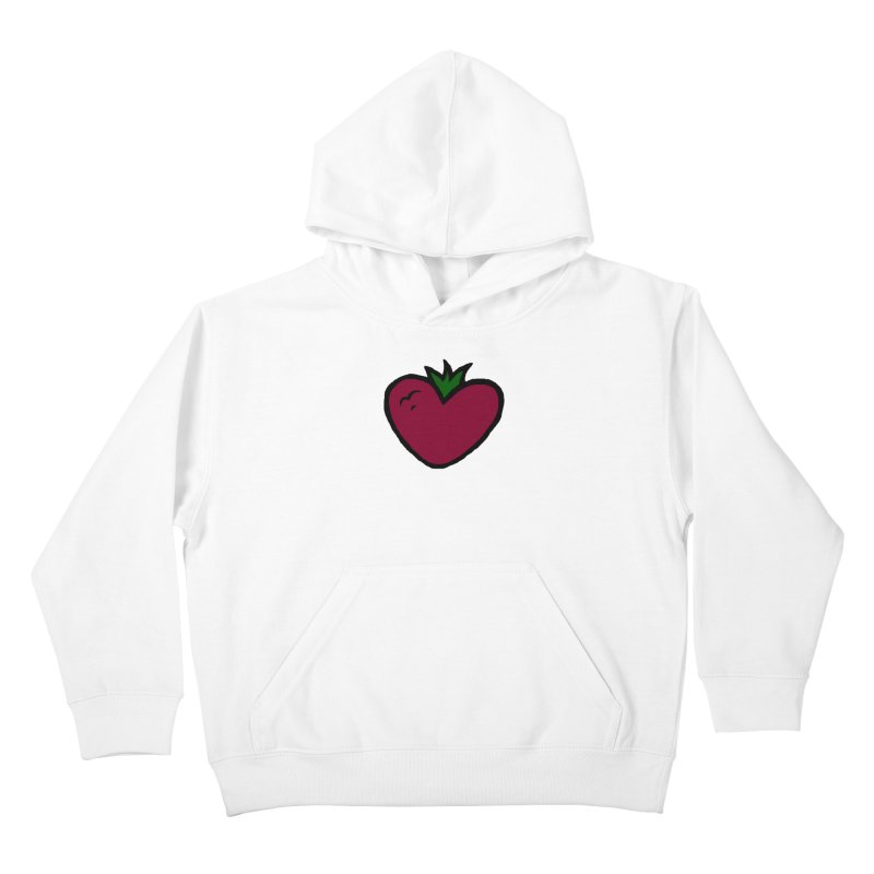 PassionFroot Logo Full Color Kids Pullover Hoody by Strange Froots Merch