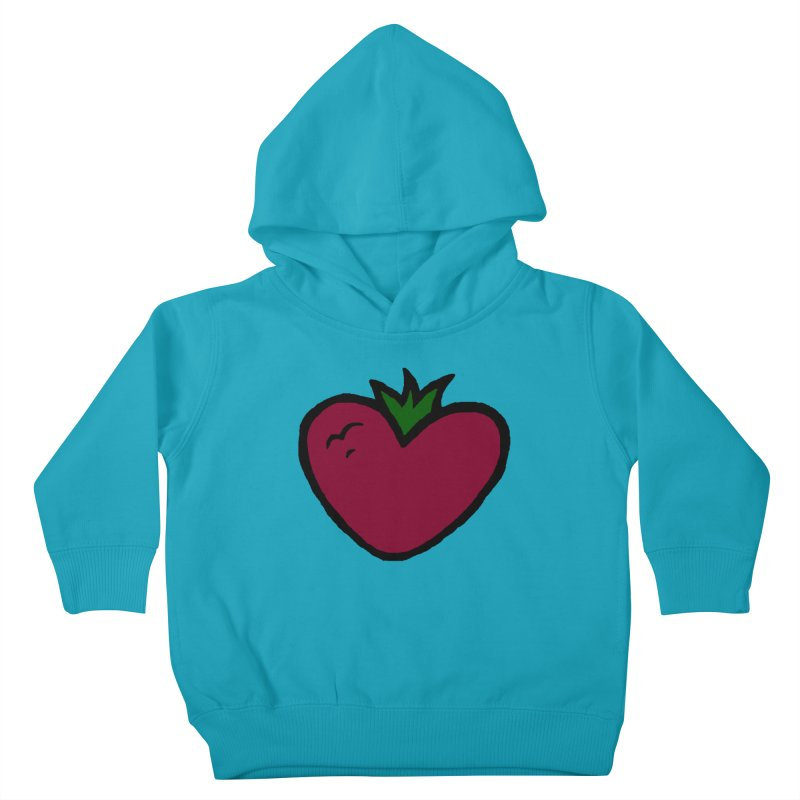 PassionFroot Logo Full Color Kids Toddler Pullover Hoody by Strange Froots Merch