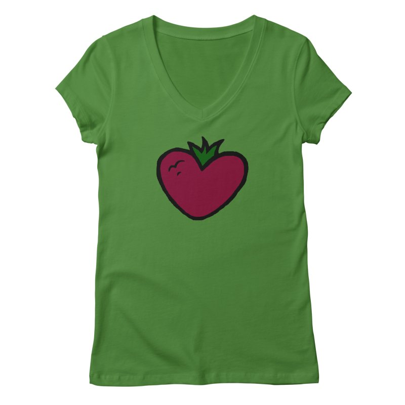 PassionFroot Logo Full Color Women's Regular V-Neck by Strange Froots Merch