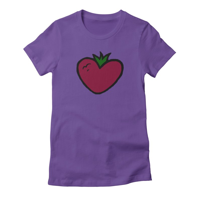 PassionFroot Logo Full Color Women's Fitted T-Shirt by Strange Froots Merch