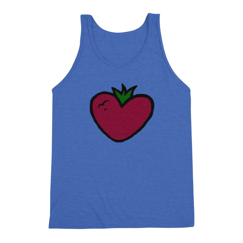 PassionFroot Logo Full Color Men's Triblend Tank by Strange Froots Merch