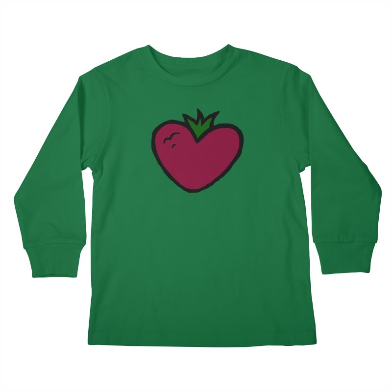 PassionFroot Logo Full Color Kids Longsleeve T-Shirt by Strange Froots Merch