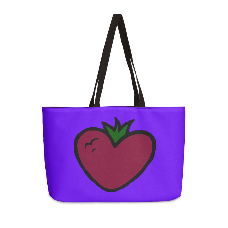 PassionFroot Logo Full Color Accessories Weekender Bag Bag by Strange Froots Merch