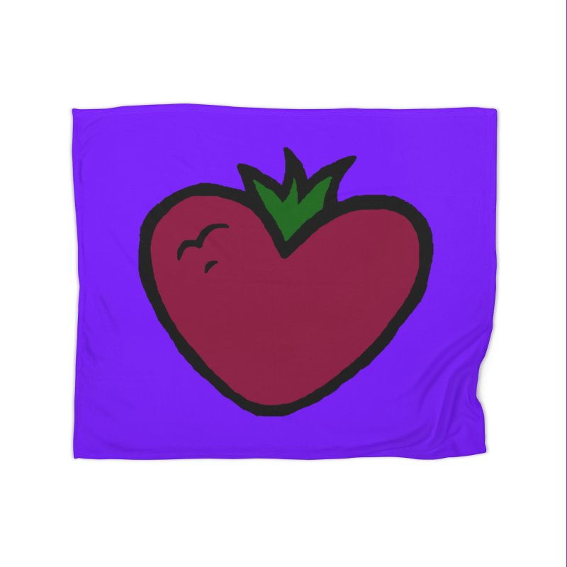 PassionFroot Logo Full Color Home Fleece Blanket Blanket by Strange Froots Merch