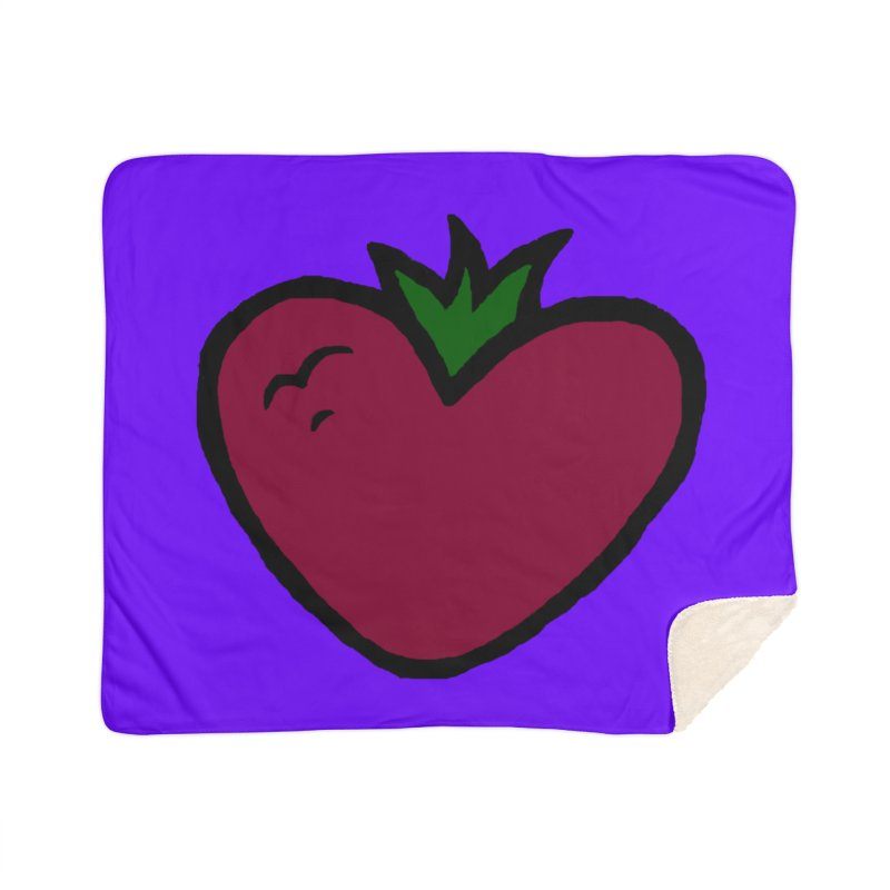PassionFroot Logo Full Color Home Blanket by Strange Froots Merch