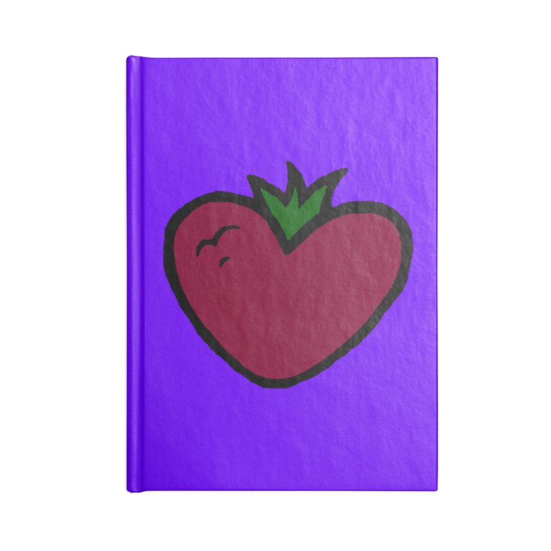 PassionFroot Logo Full Color Accessories Blank Journal Notebook by Strange Froots Merch