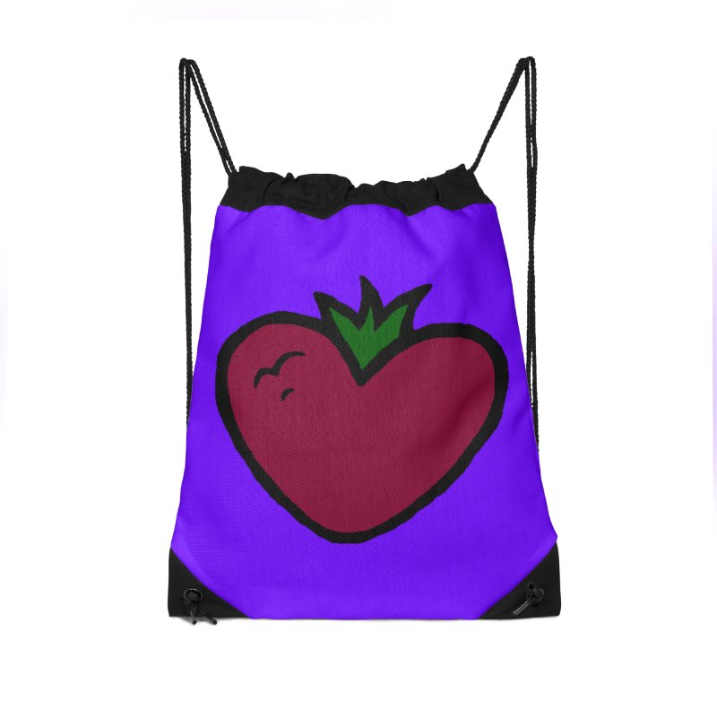 PassionFroot Logo Full Color Accessories Drawstring Bag Bag by Strange Froots Merch