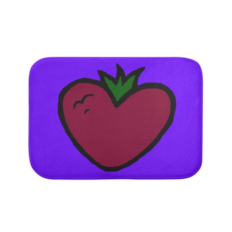 PassionFroot Logo Full Color Home Bath Mat by Strange Froots Merch
