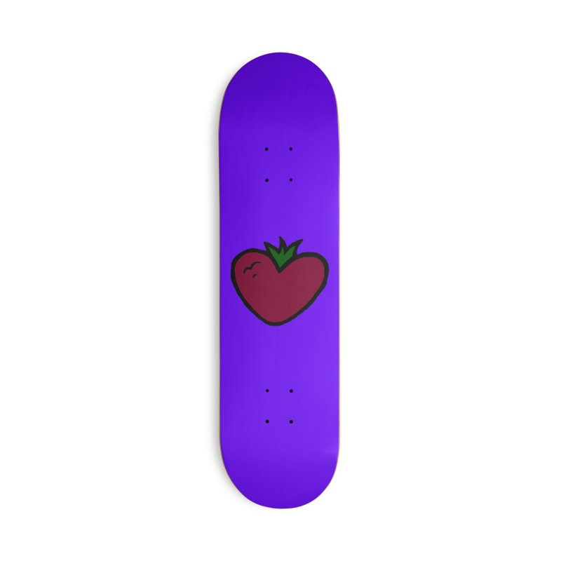 PassionFroot Logo Full Color Accessories Deck Only Skateboard by Strange Froots Merch