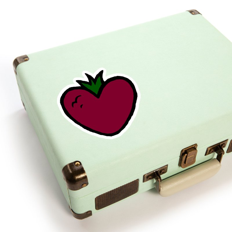 PassionFroot Logo Full Color Accessories Sticker by Strange Froots Merch