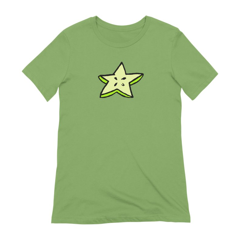 StarFroot Logo Full Color Women's Extra Soft T-Shirt by Strange Froots Merch