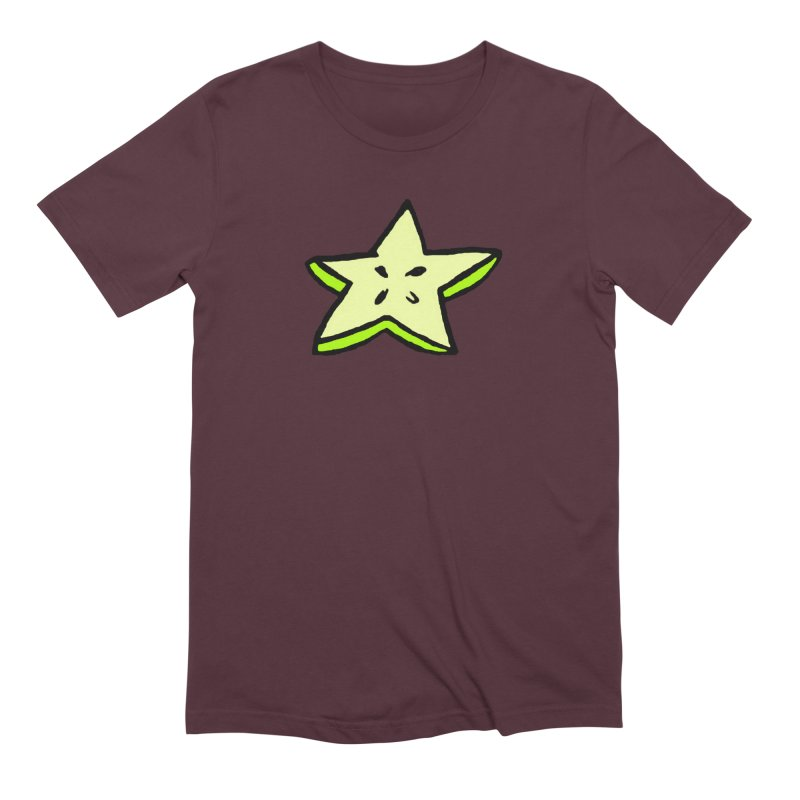 StarFroot Logo Full Color Men's Extra Soft T-Shirt by Strange Froots Merch