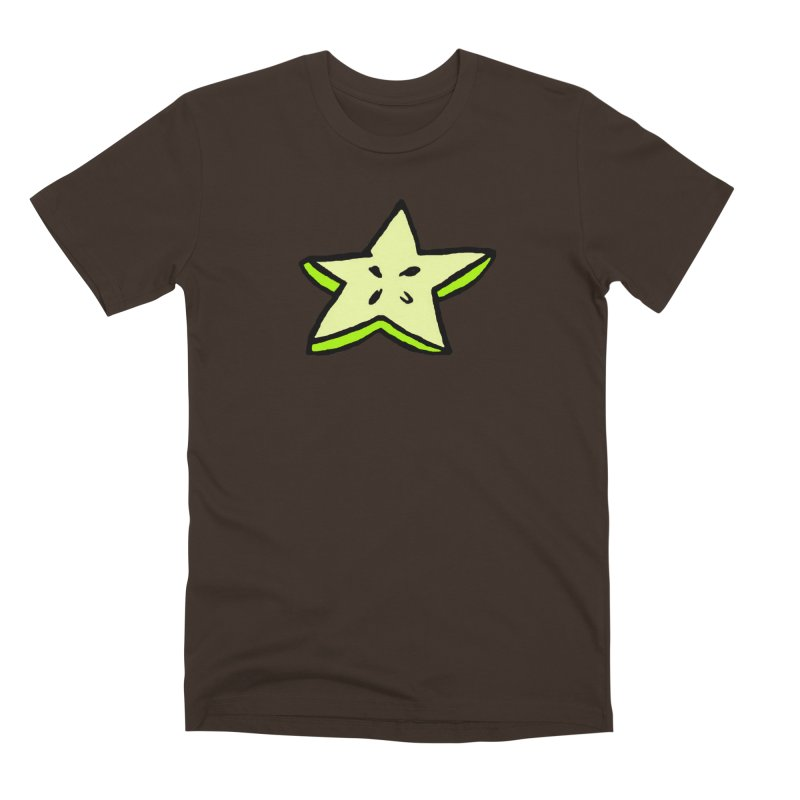 StarFroot Logo Full Color Men's Premium T-Shirt by Strange Froots Merch