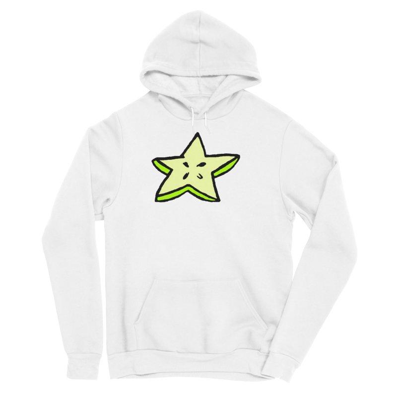 StarFroot Logo Full Color Men's Sponge Fleece Pullover Hoody by Strange Froots Merch