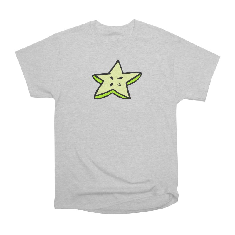 StarFroot Logo Full Color Women's Heavyweight Unisex T-Shirt by Strange Froots Merch