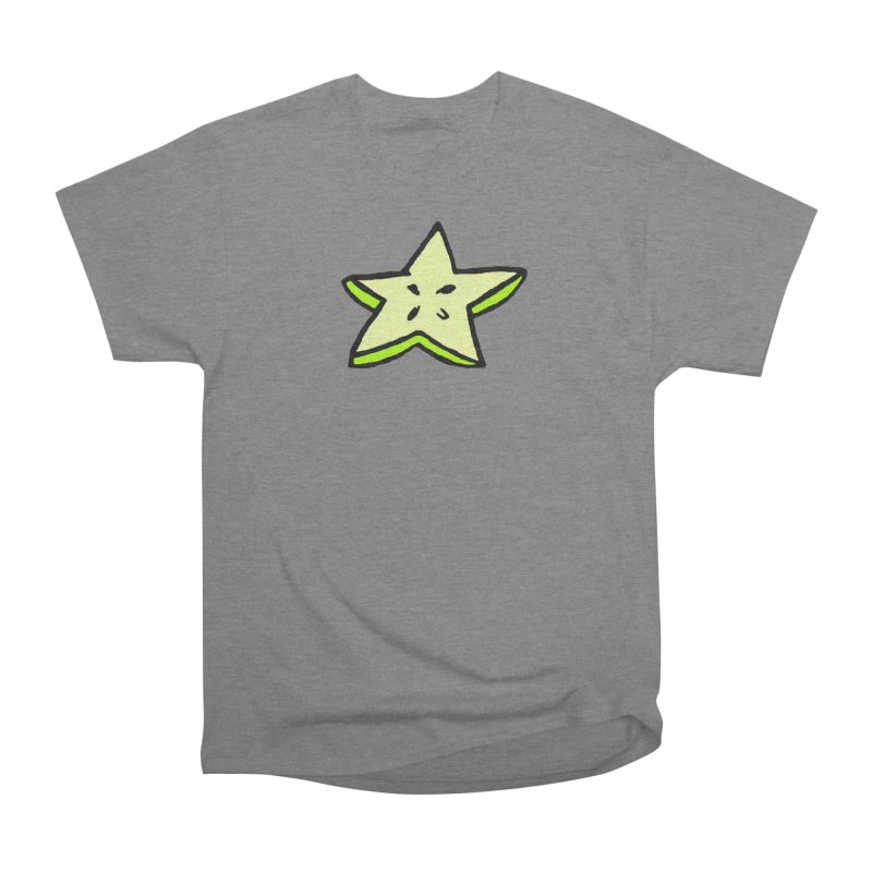 StarFroot Logo Full Color Men's Heavyweight T-Shirt by Strange Froots Merch