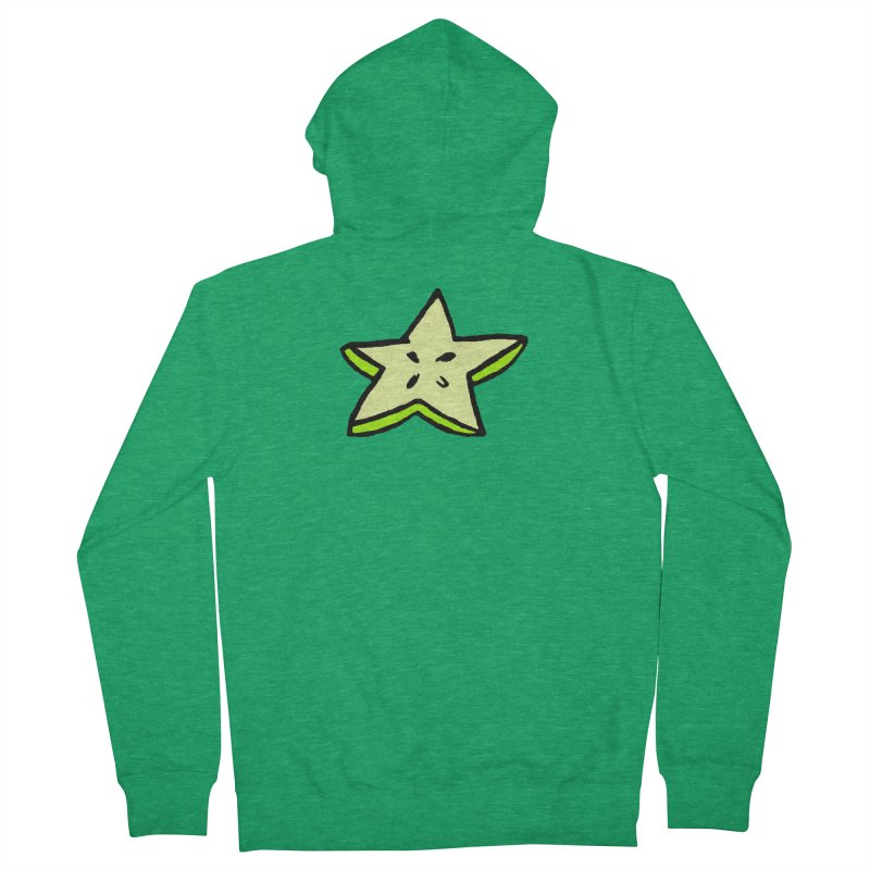 StarFroot Logo Full Color Women's French Terry Zip-Up Hoody by Strange Froots Merch